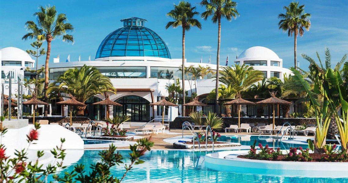 Elba Lanzarote Royal Village Resort Garten