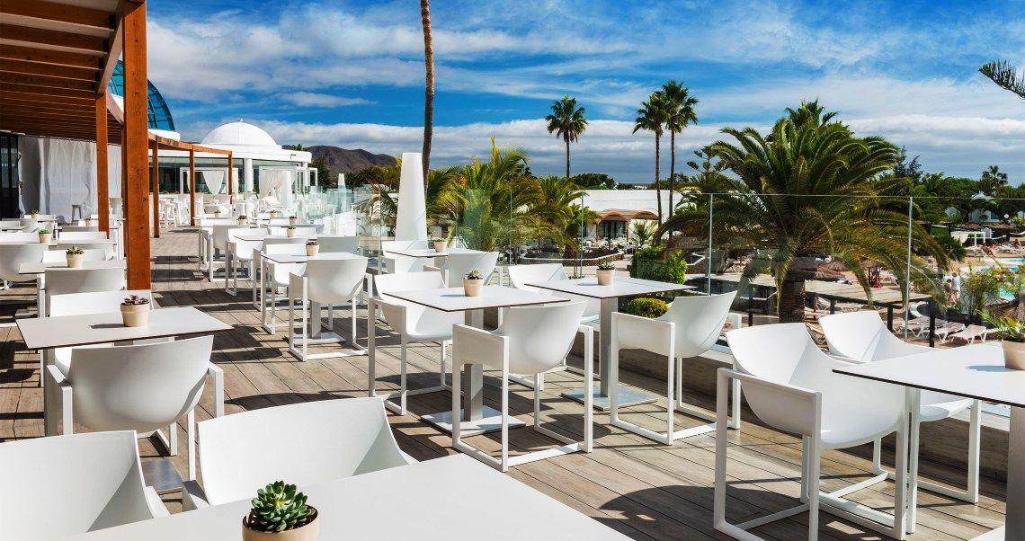 Elba Lanzarote Royal Village Resort Restaurant El Mirador Terrace
