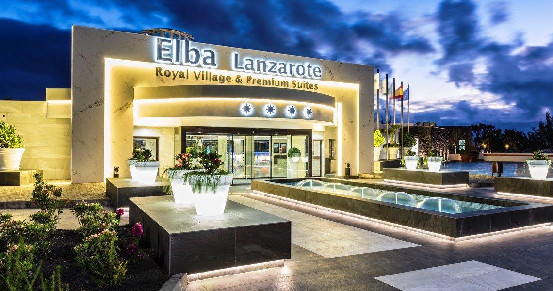 Elba Lanzarote Royal Village Resort Hoteleingang