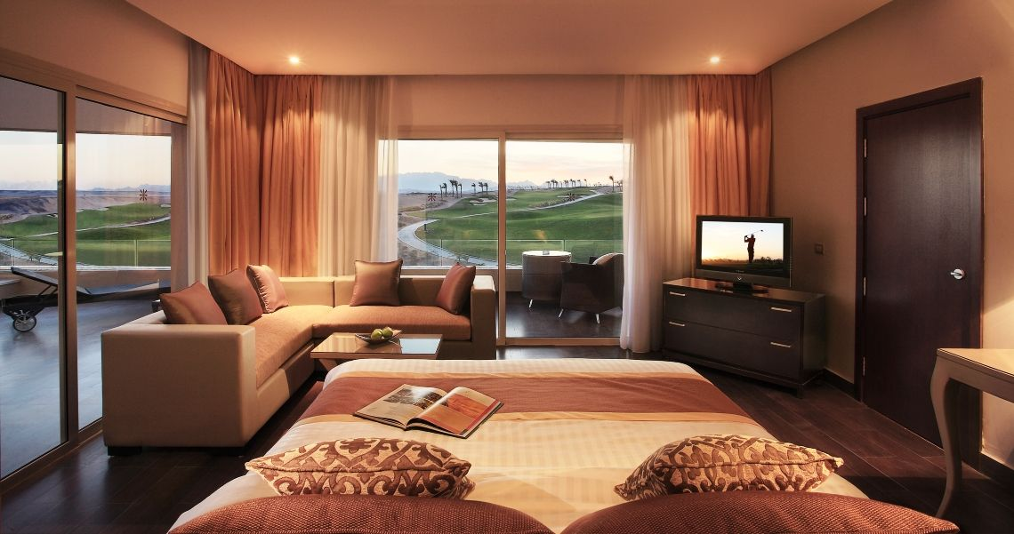 Steigenberger Madinat Makadi Golf Resort Zimmer