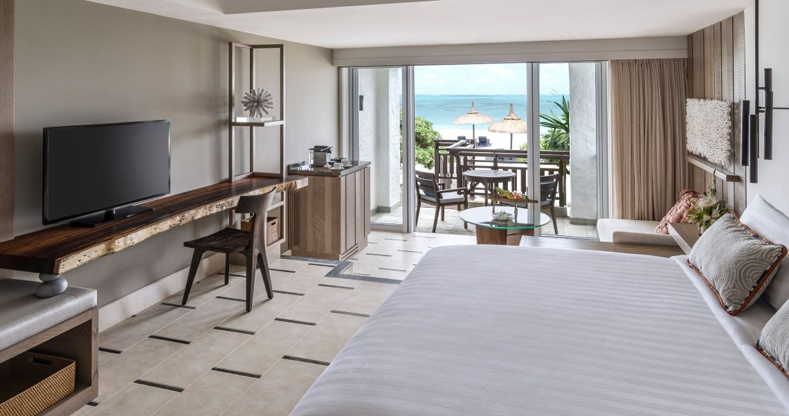 Shangri La s Le Touessrok Resort Zimmer