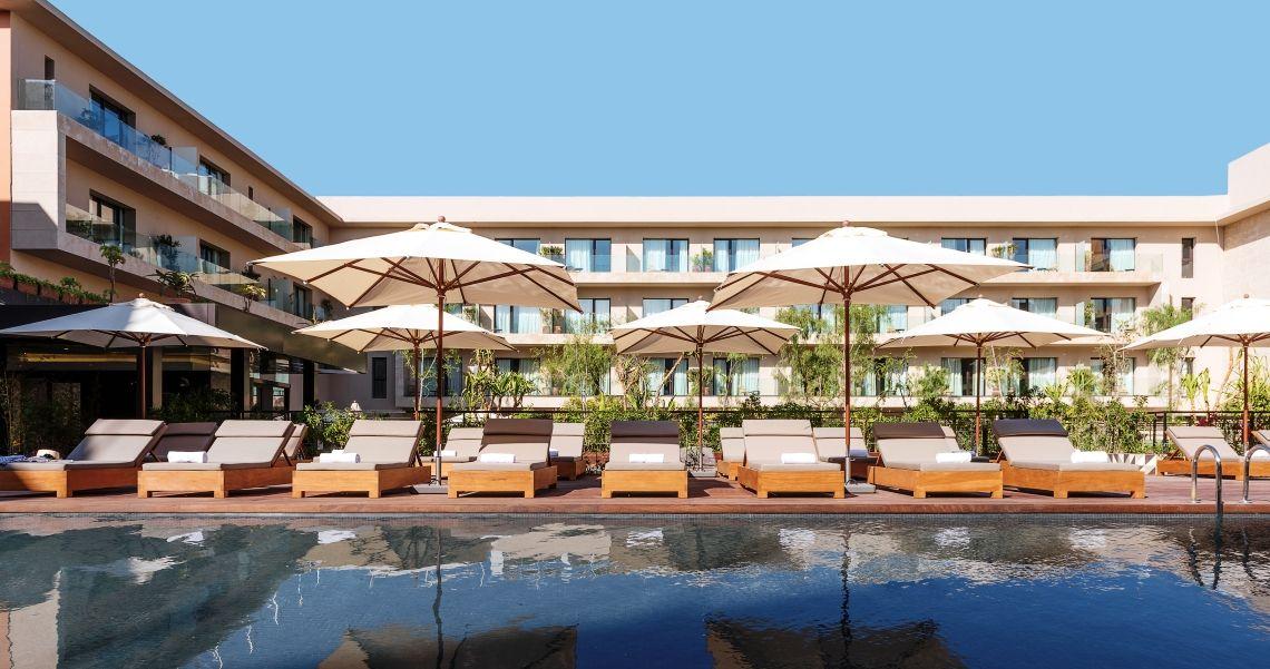 Radisson Blu Hotel Marrakesch Pool