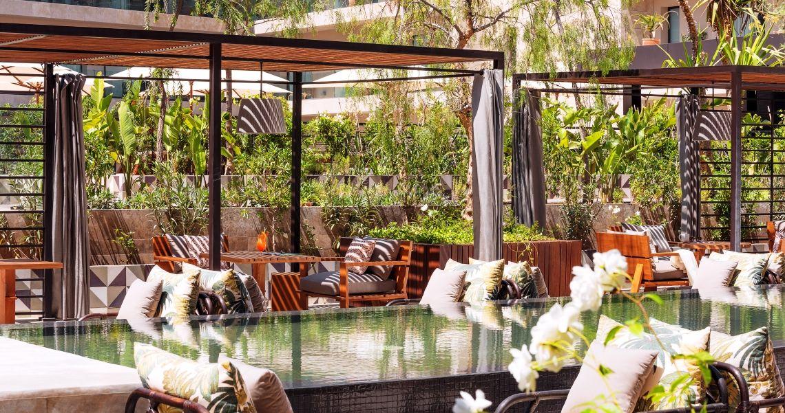 Radisson Blu Hotel Marrakesch Garten