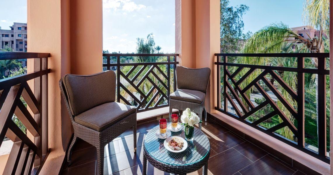 Mövenpick Hotel Mansour Blick vom Balkon
