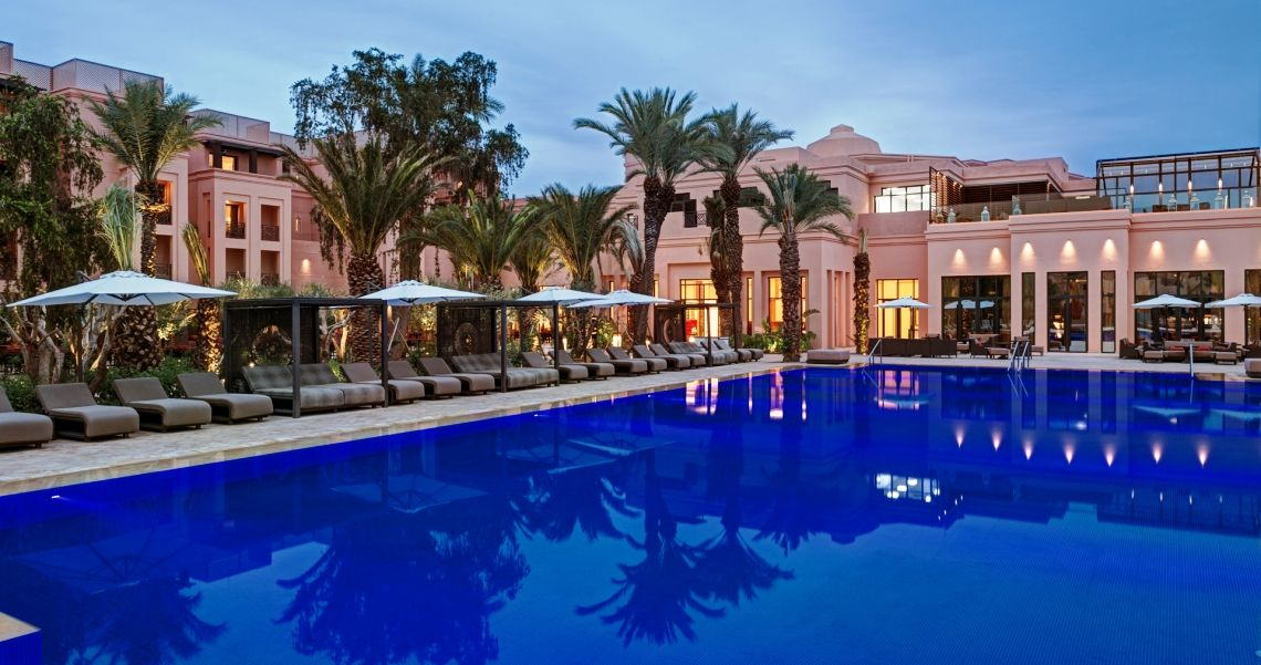 Mövenpick Hotel Mansour Blick vom Pool