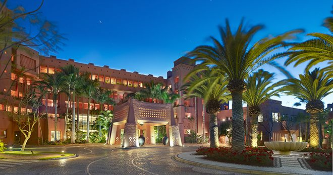 The Ritz-Carlton Abama Ansicht am Abend