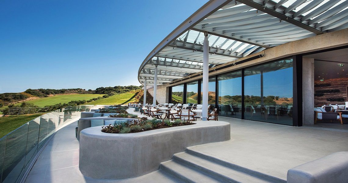 The Bay Course - Clubhouse Costa Navarino