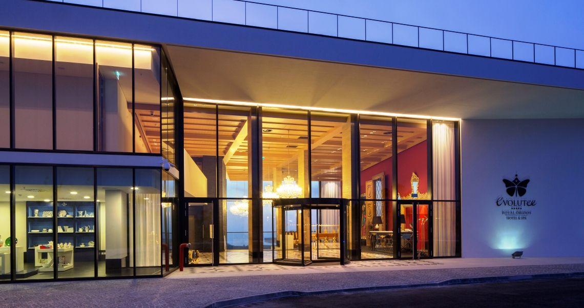 Evolutee Royal Obidos Hotel & Spa Eingang