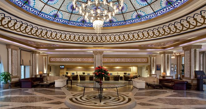 Kempinski Hotel The Dome Lobby